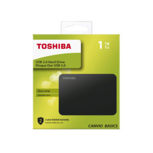 DISCO DURO EXTERNO 2.5″ 1TB TOSHIBA USB 3.0 HDTB410EK3AA