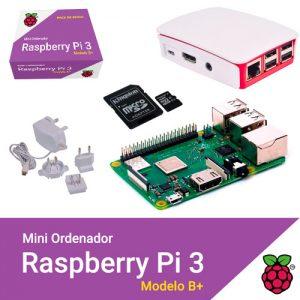 KIT RASPBERRY PI 3 MODELO B+ / MICROSD 32GB NOOBS