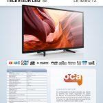 TELEVISION 32″ ENGEL LE3260T2 HD READY TDT2 USB