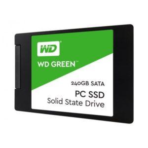 SSD WD GREEN 240GB 2.5″ SATA3 7MM 3D WDS240G2G0A