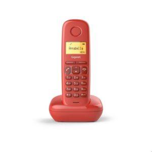 TELEFONO SIEMENS GIGASET A170 ROJO SI-A170RO