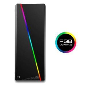 CAJA ATX AEROCOOL CYLON NEGRA RGB USB3.0
