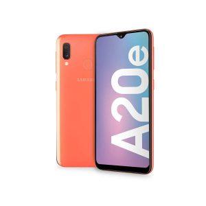 TELEFONO MOVIL SAMSUNG GALAXY A20E CORAL 5.8″